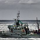 """Fishing Patrol Boat ~ """"Drumbeat of Devon"""" by Clive"""