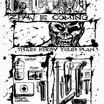 Zombie Apocalypse. by Mikekevan