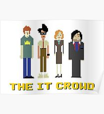 The IT Crowd – Roy, Moss, Jen and Douglas Poster