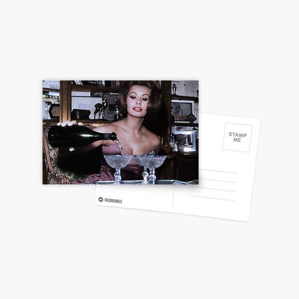 Sophia Loren 50s Actress Postcard