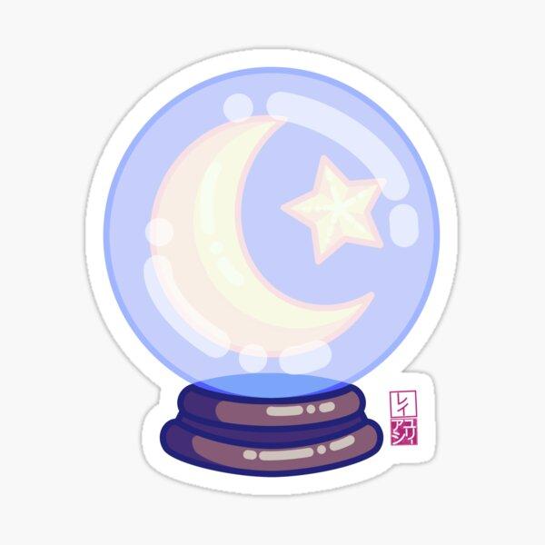 Kawaii Crystal Ball Sticker