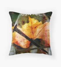 Father, forgive them... Throw Pillow