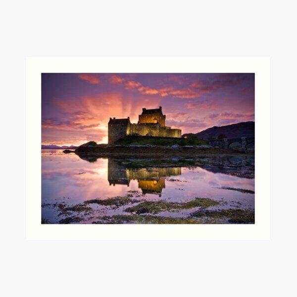 Scotland: Eilean Donan Castle Art Print