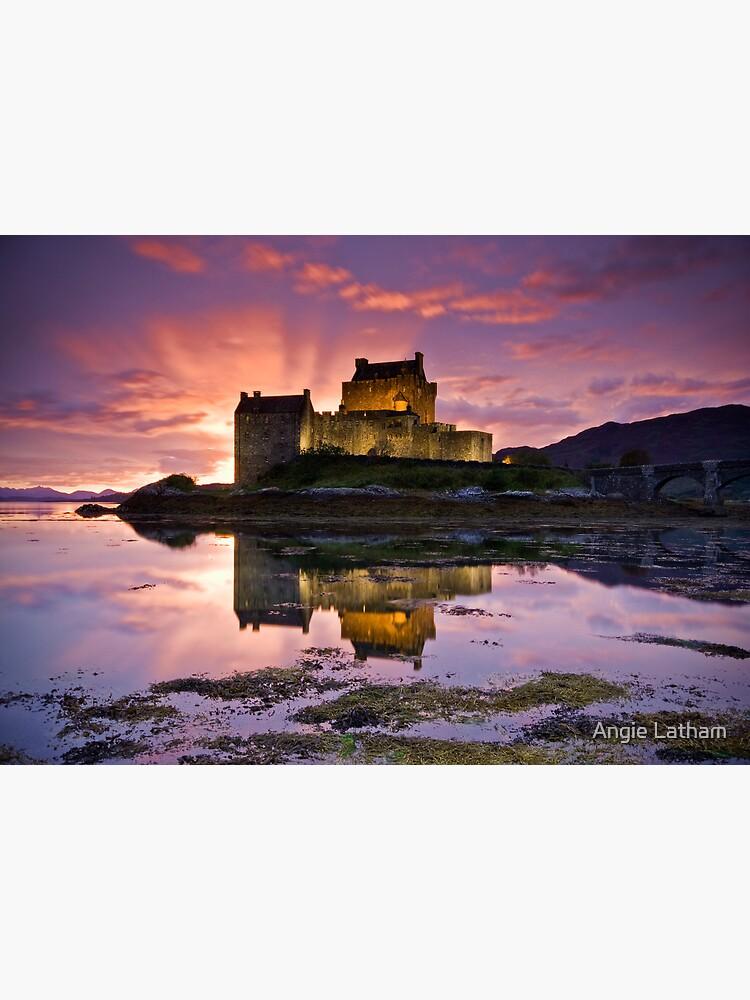 Scotland: Eilean Donan Castle by AngelaBarnett