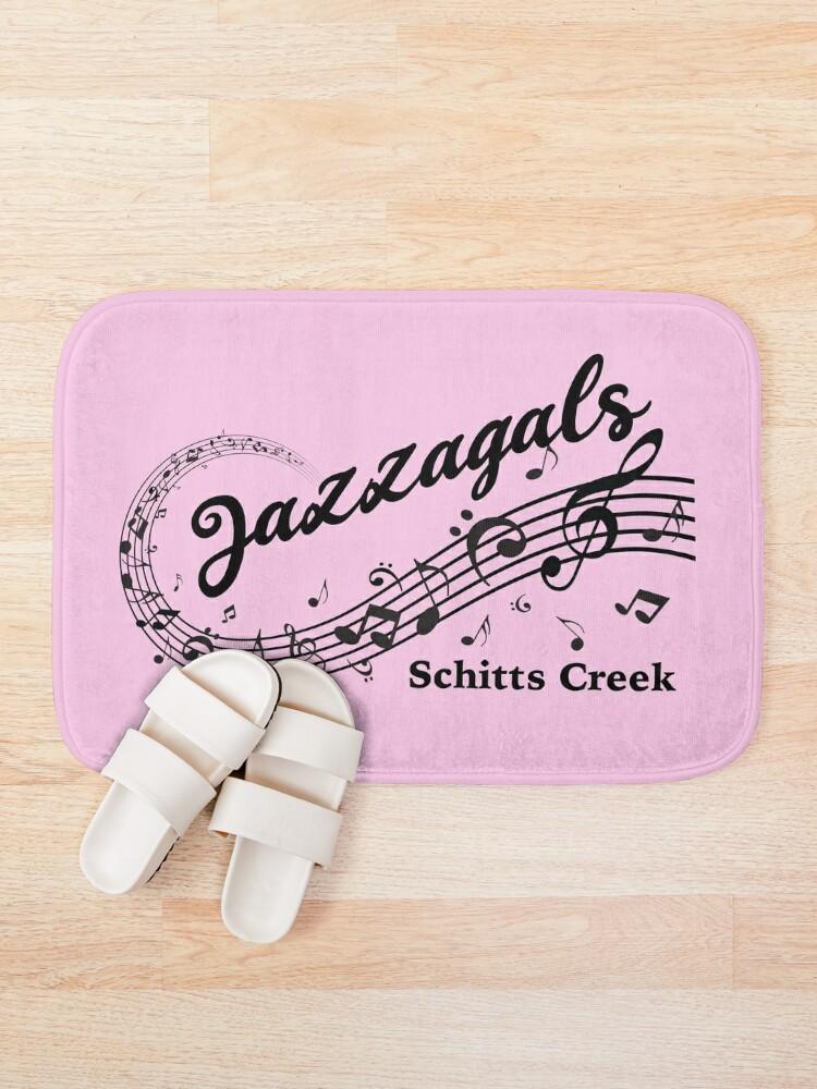 Alternate view of Jazzagals Schitts Creek Bath Mat