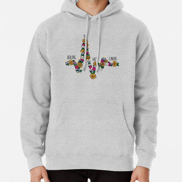 Healing Is Not Linear Pullover Hoodie