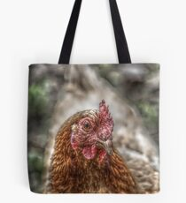 Hen HDR Tote Bag