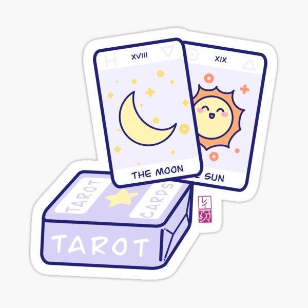 Kawaii Tarot Sticker
