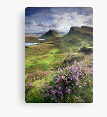 Scotland: My Bonny Heather Metal Print
