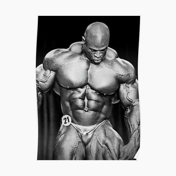RONNIE COLEMAN DESIGN Poster