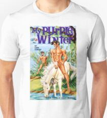 My Purple Winter Vintage Bookcover Unisex T-Shirt