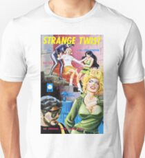 Strange Twist Lurid Vintage Bookcover T-Shirt