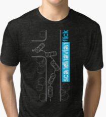 Scandinavian Flick Tri-blend T-Shirt