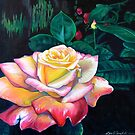 Peace Rose by Lori Elaine Campbell