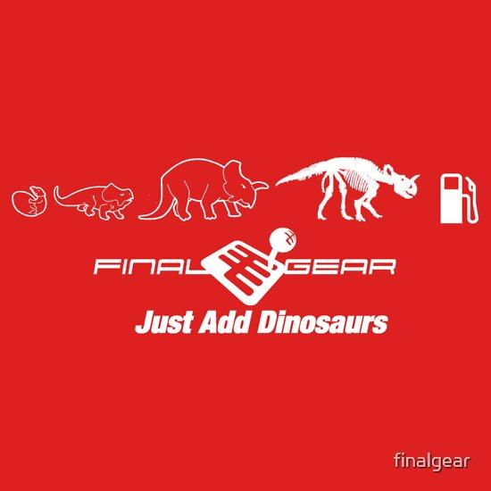 TShirtGifter presents: Just Add Dinosaurs