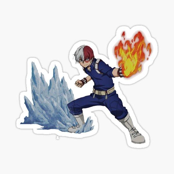Todoroki Shouto mha Sticker