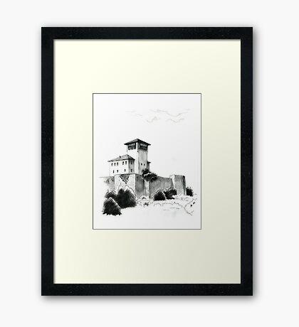 Gradacac, Kula Husein Kapetana Framed Print
