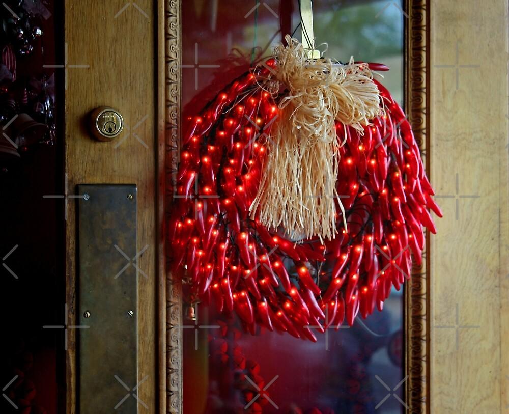 Chili Pepper Wreath by CarolM