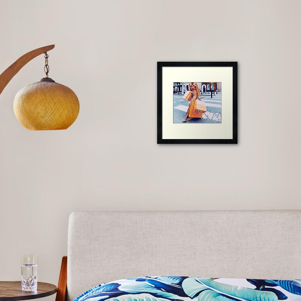 LOUIS FEELS Framed Art Print