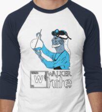 Walker White Men's Baseball ¾ T-Shirt