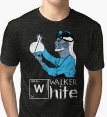 Walker White Tri-blend T-Shirt