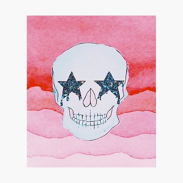 STAR SKULL Photographic Print