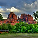 Red Rock Glow by K D Graves Photography