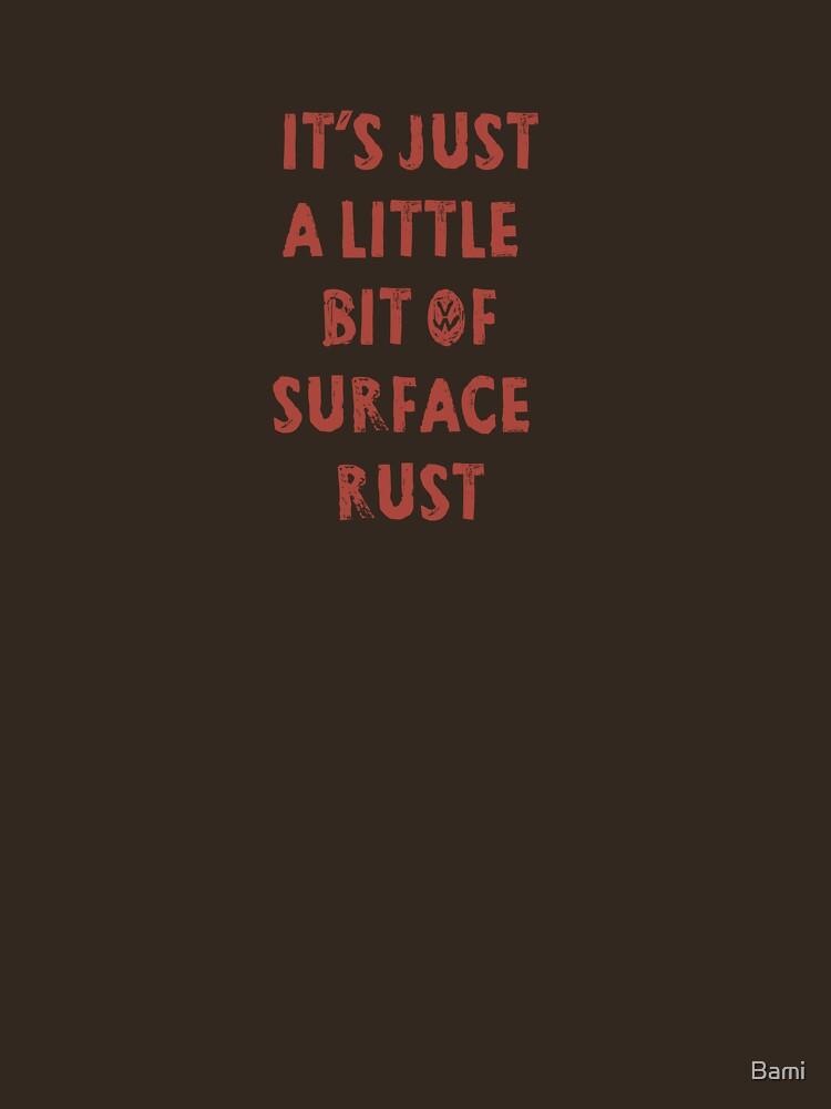 TShirtGifter presents: Surface Rust - Restoring VWs | Unisex T-Shirt