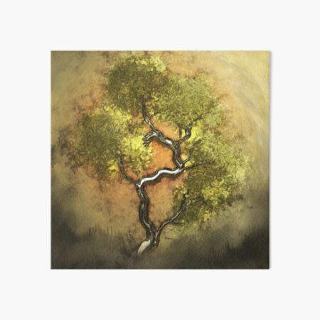 Metallic Dream Tree Art Board Print