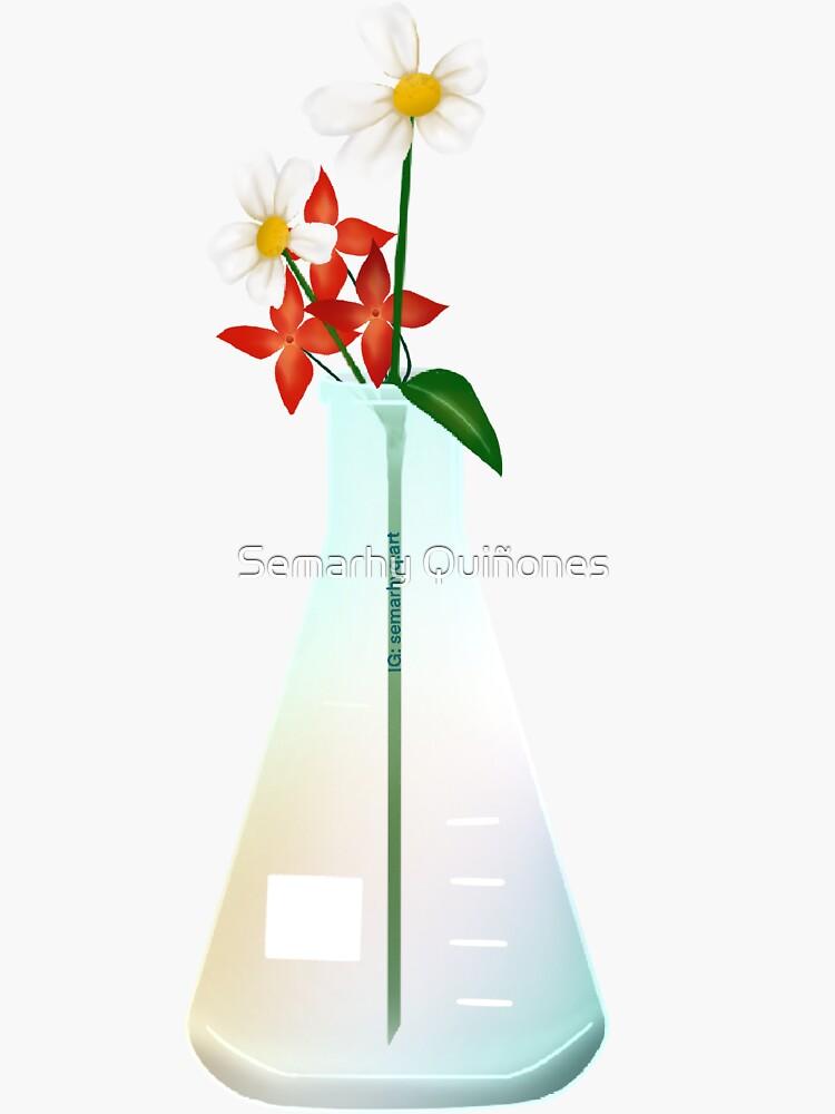 Lab Glassware Florals 2 by semarhy