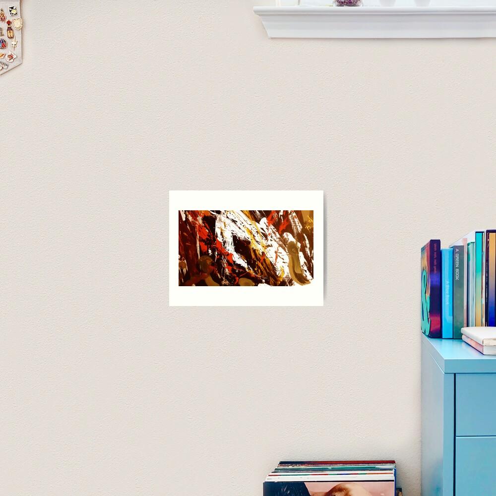 View from Tibet Art Print