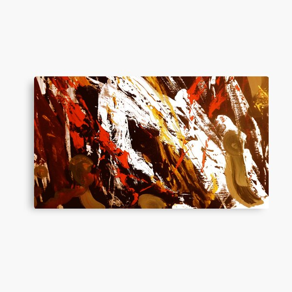 View from Tibet Canvas Print