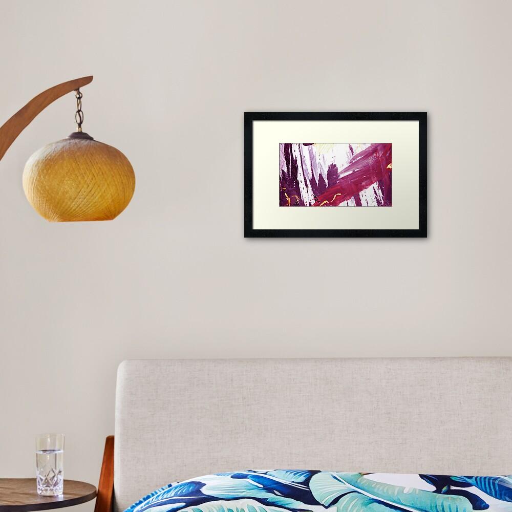 View from Tibet Framed Art Print