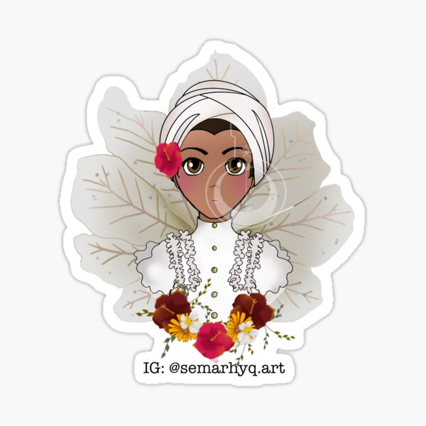 Jibara Puertorriquena Sticker