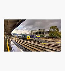 The Old and New Order at Temple Meads  Photographic Print