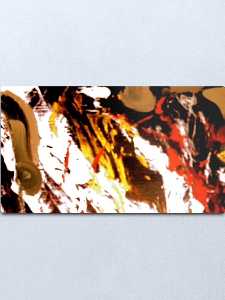 Alternate view of View ffrom Tibet Metal Print