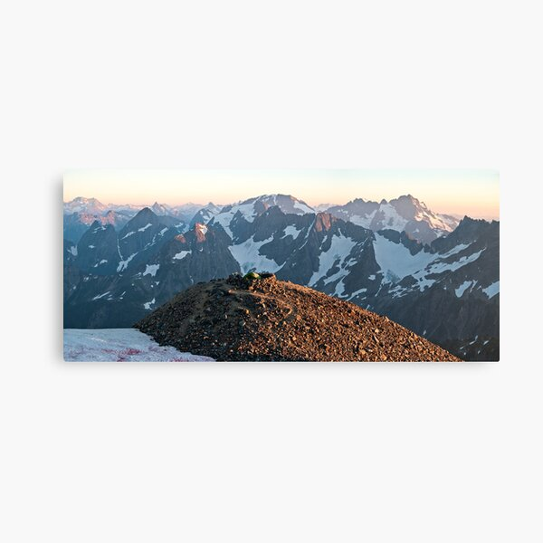 At the Top of the World - North Cascades N. P. Canvas Print