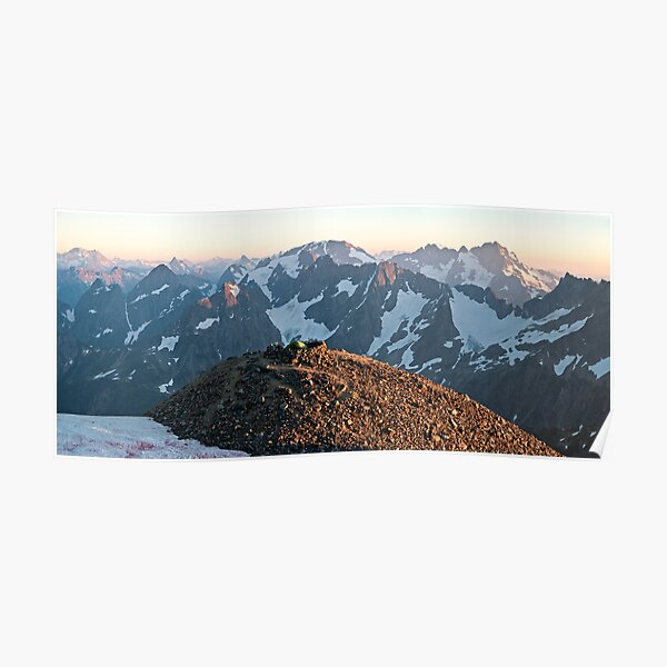 At the Top of the World - North Cascades N. P. Poster