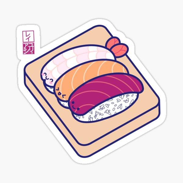 Kawaii Nigiri Sticker
