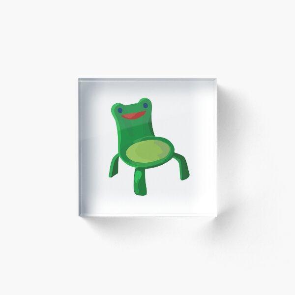 Froggy Chair Acrylic Block