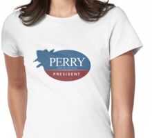 Perry the Platypus for President Womens Fitted T-Shirt