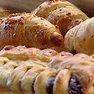Croissant & Jam by Janie. D