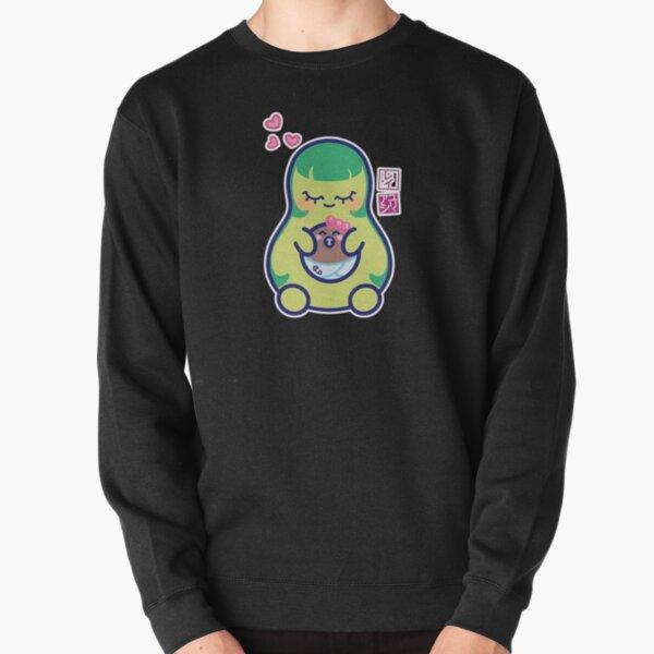 Kawaii Mamacado Pullover Sweatshirt