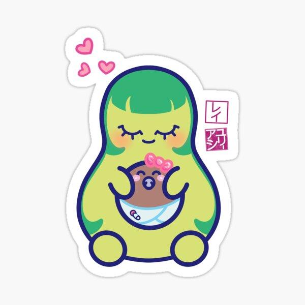 Kawaii Mamacado Sticker