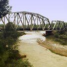 Rail Road Bridge by KatsEyePhoto