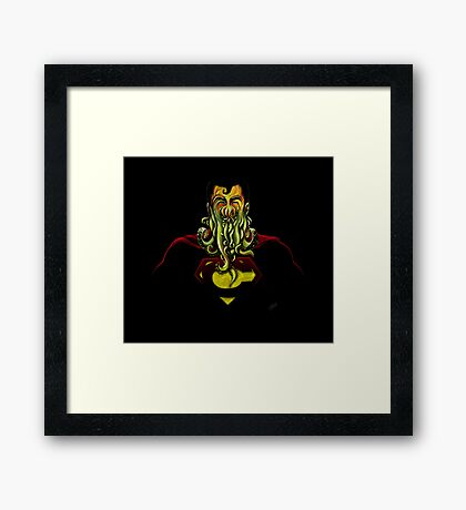 SuperCthulhu Framed Print