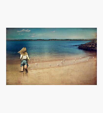 seaside holiday Photographic Print