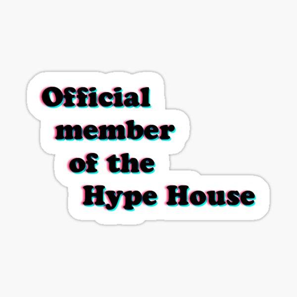 Miembro oficial de Hype House Pegatina