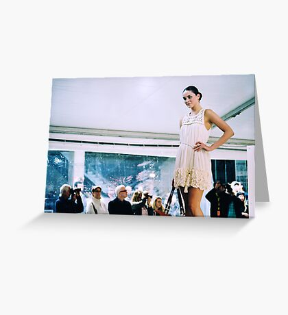 Can't Stop Fashion Greeting Card