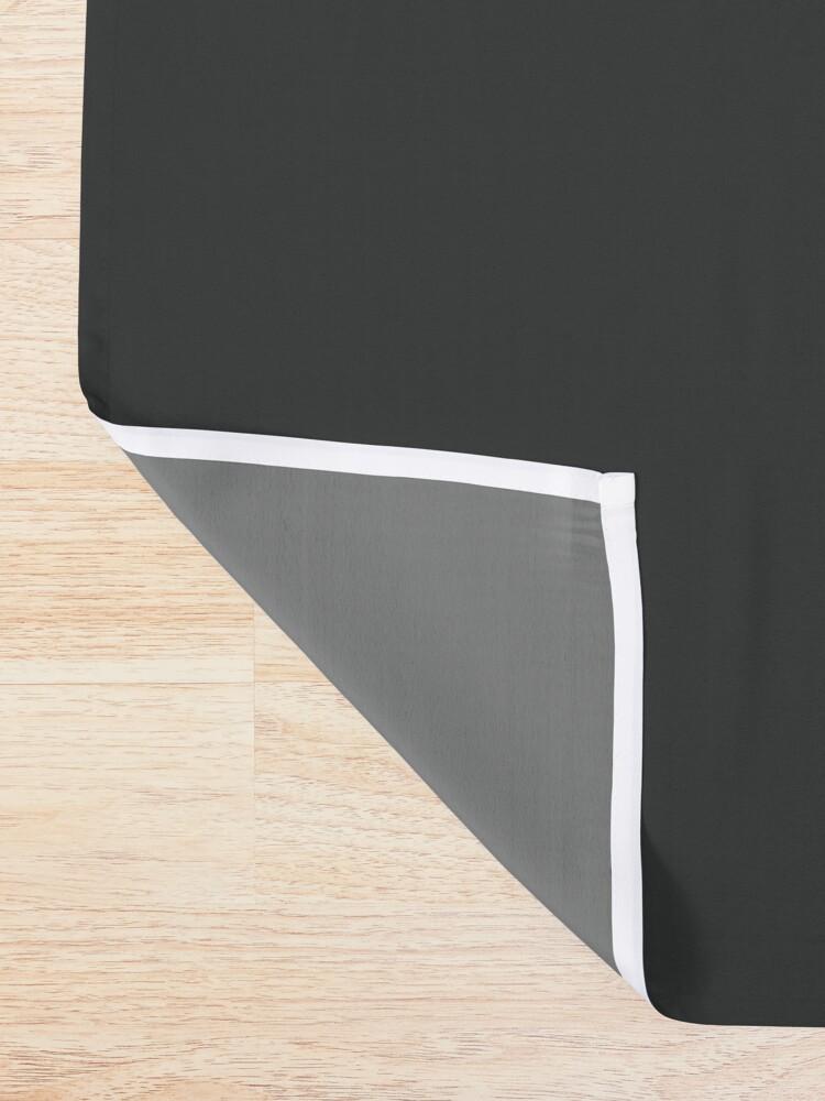 Alternate view of Jamon Paradigm Condensed Logo Shower Curtain